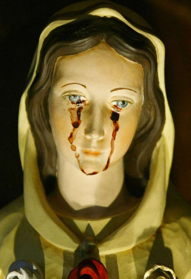 mary weeping blood chron getty