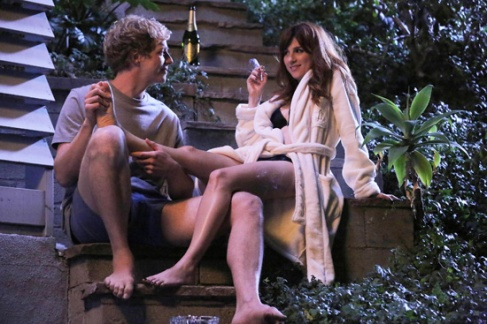 YOU'RE THE WORST - Pictured: (L-R) Chris Geere as Jimmy, Aya Cash as Gretchen. CR. Byron Cohen/FX