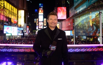 DICK CLARK'S NEW YEAR'S ROCKIN' EVE WITH RYAN SEACREST 2016 - America's biggest celebration of the year will take place live from Times Square on THURSDAY, DECEMBER 31 beginning at 8 p.m., ET/PT on the ABC Television Network. (ABC/ Ida Mae Astute) RYAN SEACREST, FANS