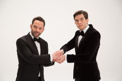 Nick Kroll and John Mulaney, co-hosts of the 2017 Film Independent Spirit Awards