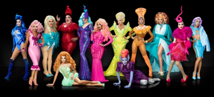 rupaul season 9 cast