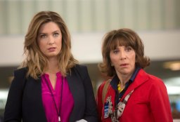 GREAT NEWS -- Pilot -- Pictured: (l-r) Briga Heelan as Katie, Andrea Martin as Carol -- (Photo by: Eric Liebowitz/NBC)