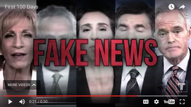 fake news trump ad