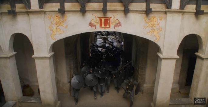 GOT trailer Unsullied Lannister