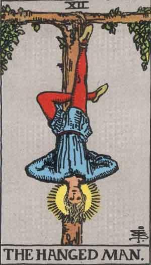 hanged man tarot