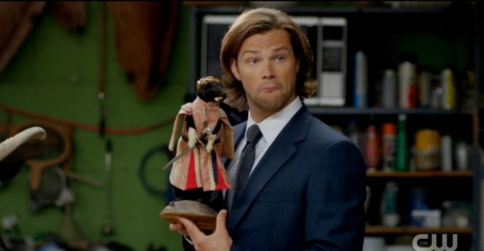 SPN_Sam GoT taxidermy