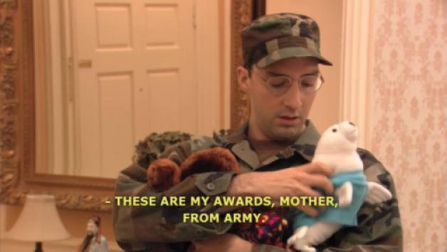 these are my awards from army buster arrested development.png