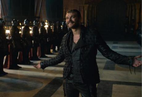 euron smiling game of thrones got