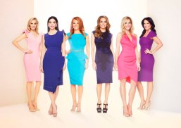 THE REAL HOUSEWIVES OF DALLAS -- Season:2 -- Pictured: (l-r) Kameron Westcott, D'Andra Callway Simmons, Brandi Redmond, Carey Deuber, Stephanie Hollman, LeeAnn Locken -- (Photo by: Michael Larsen/F. Scott Schafer/Bravo)