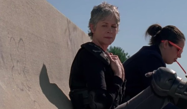 carol look at the flower twd the walking dead.jpeg