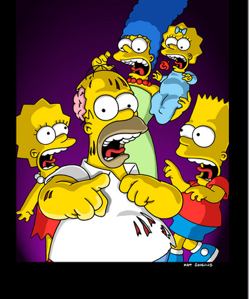 """The Simpsons face the their annual tricks and treats and Halloween freaks in THE SIMPSONS episode """"Treehouse Of Horror XII"""" Tuesday, Nov. 6 (8:00-8:30 PM ET/PT) on FOX. ™©2001FOX BROADCASTING CR:FOX © and™The Simpsons and Twentieth Century Fox Film Corporation. All Rights Reserved."""