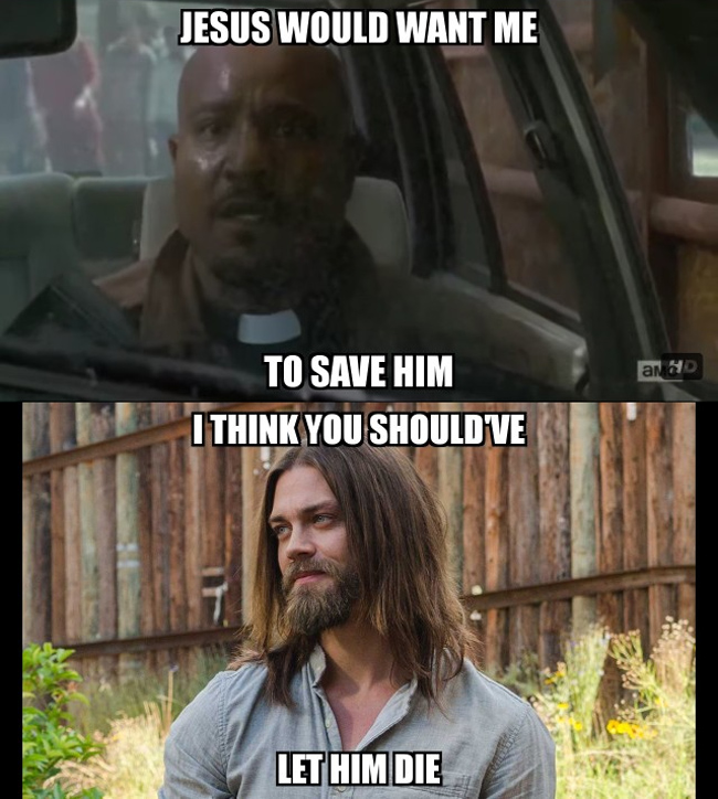 the walking dead jesus wants me to save him twd