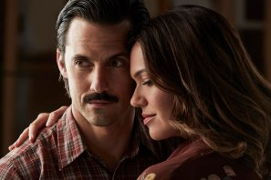 THIS IS US -- Season: 2 -- Pictured: (l-r) Milo Ventimiglia as Jack, Mandy Moore as Rebecca-- (Photo by: Maarten de Boer/NBC)
