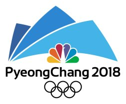 """2018 WINTER OLYMPICS -- Pictured: """"PeyongChang 2018"""" Logo -- (Photo by: NBCUniversal)"""