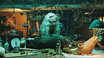"""CHANNEL ZERO: BUTCHER'S BLOCK -- """"Insidious Onset"""" Episode 201 -- Pictured: Krisha Fairchild as Louise Lispector -- (Photo by: Syfy)"""