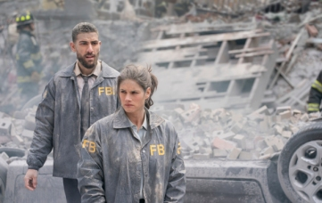 """FBI, from Emmy Award winner Dick Wolf and the team behind the """"Law & Order"""" franchise, is a fast-paced drama about the inner workings of the New York office of the Federal Bureau of Investigation. These first-class agents, including Special Agent Maggie Bell (Missy Peregrym, pictured) and her partner, Special Agent Omar Adom 'OA' Zidan (Zeeko Zaki, pictured), bring all their talents, intellect and technical expertise to tenaciously investigate cases of tremendous magnitude, including terrorism, organized crime and counterintelligence, in order to keep New York and the country safe. FBI will premiere on the CBS Television Network during the 2018-19 season. Photo: Michael Parmelee/CBS ©2018 CBS Broadcasting, Inc. All Rights Reserved"""