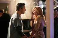 "DIRTY JOHN -- ""Approachable Dreams"" Episode 101 -- Pictured: (l-r) Eric Bana as John Meehan, Connie Britton as Debra Newell -- (Photo by: Jordin Althaus/Bravo)"