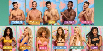 Meet the Islanders who are looking for love this summer on LOVE ISLAND. Eleven sexy singletons are ready to find their perfect matches when the U.S. version of the international reality sensation debuts with a special 90-minute premiere, Tuesday, July 9 (8:00-9:30 PM, ET/PT) on the CBS Television Network. New one-hour episodes continue every weeknight through Wednesday, August 7 (8:00-9:00 PM, ET/PT). Photo: Timothy Kuratek/CBS Entertainment ©2019 CBS Broadcasting, Inc. All Rights Reserved.